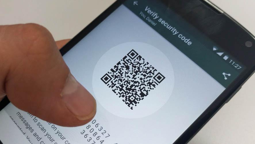 WhatsApp cifrado QR