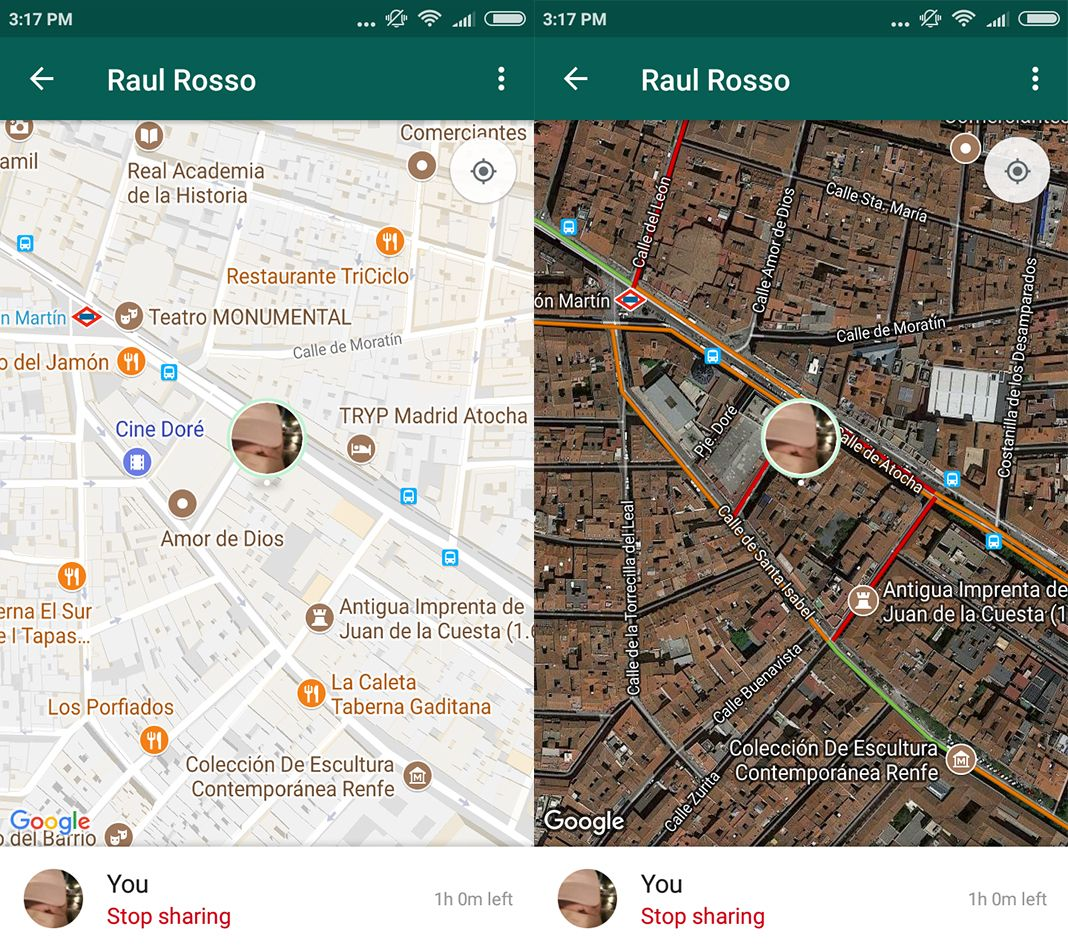whatsapp compartir ubicacion screenshot 3 en How to share your real-time location on WhatsApp
