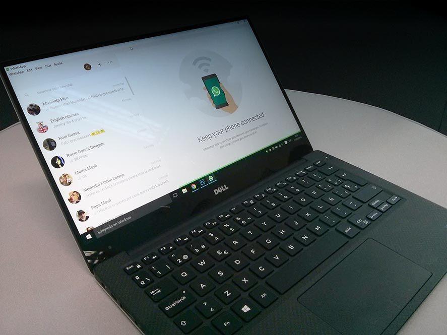WhatsApp Desktop Laptop