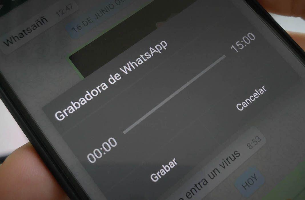 whatsapp grabadora feat Cómo grabar mensajes de voz en WhatsApp sin mantener pulsado el botón del micrófono