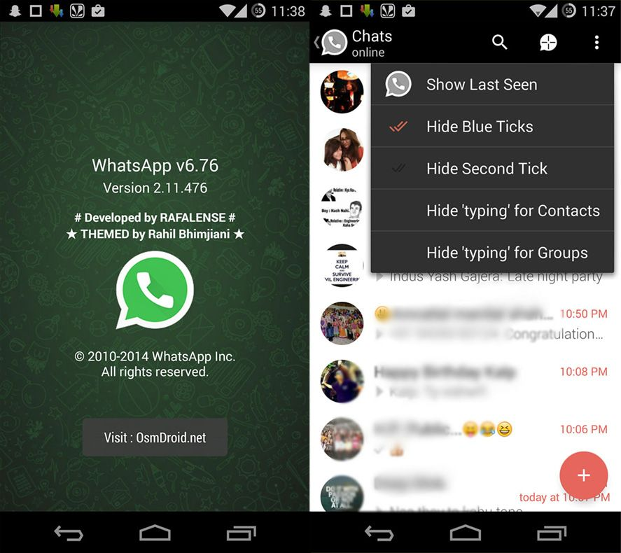 Whatsapp plus version 8.10 download