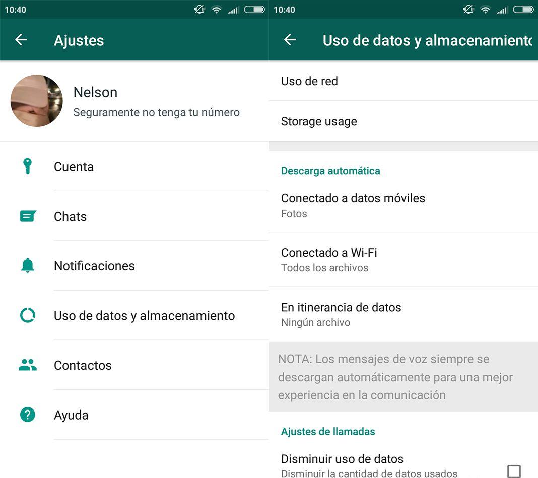 whatsapp screenshot 1 Cómo liberar espacio en WhatsApp fácilmente con su última actualización