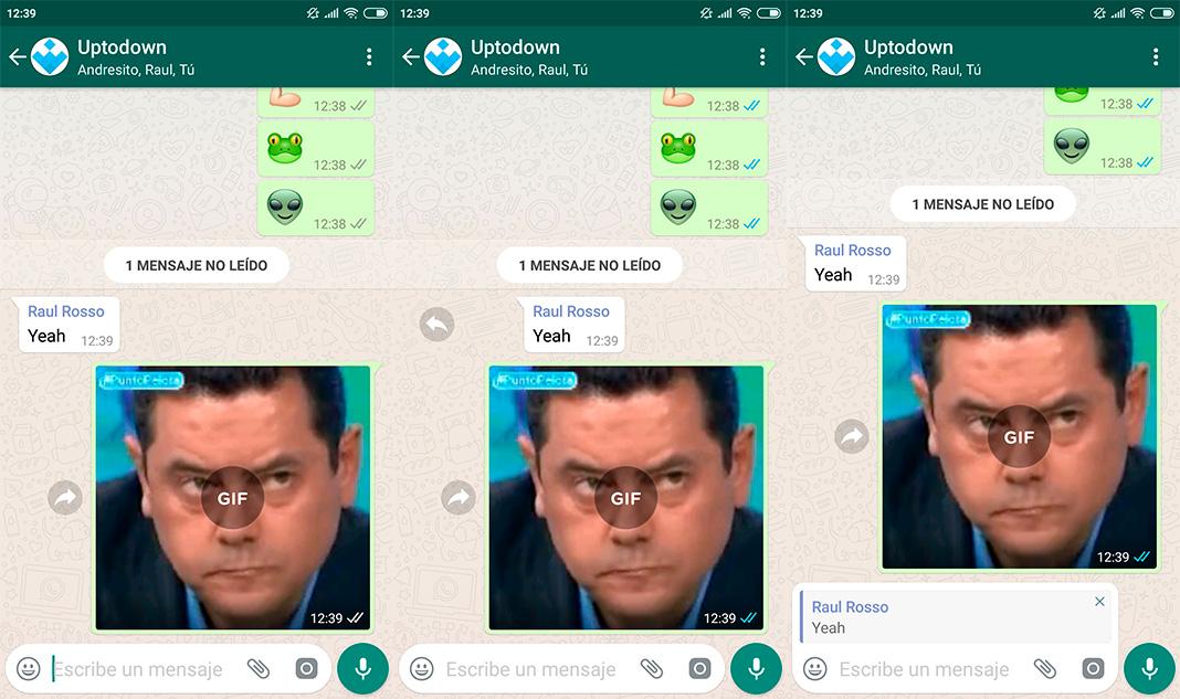 Whatsapp Slide