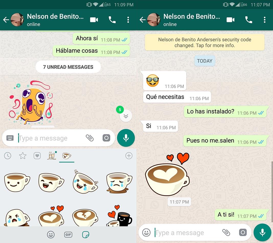Ya Puedes Utilizar Stickers En Whatsapp Desde La Beta Para Android