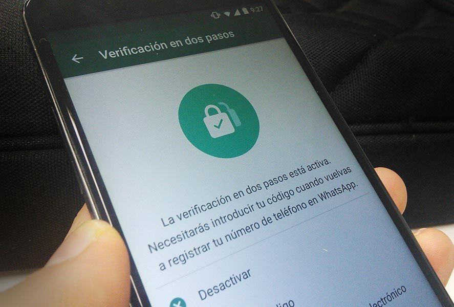 whatsapp verificacion dos pasos WhatsApp adds two-step verification for all users