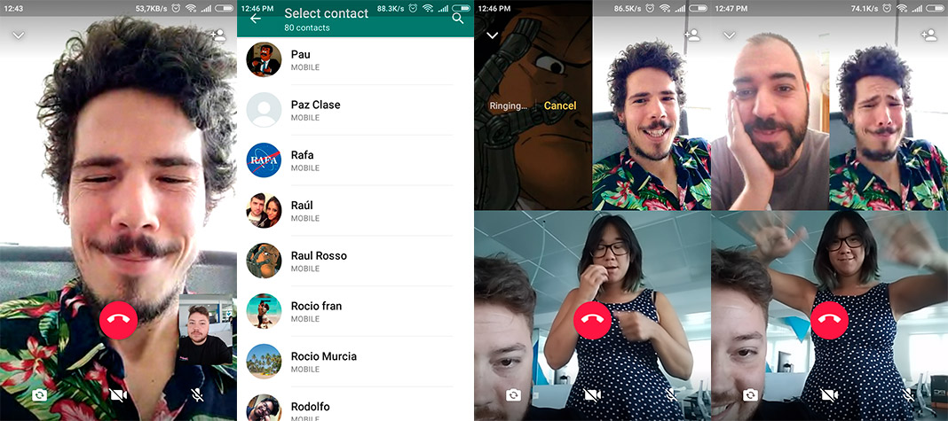 whatsapp video en Group voice and video calls are now possible on WhatsApp