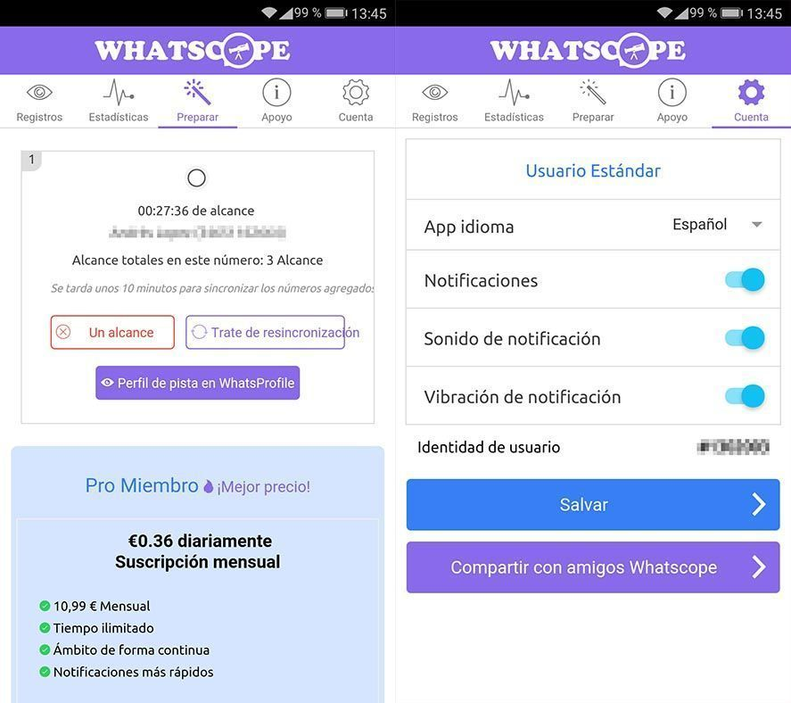 whatscope screenshots Whatscope is the definitive spying app for WhatsApp
