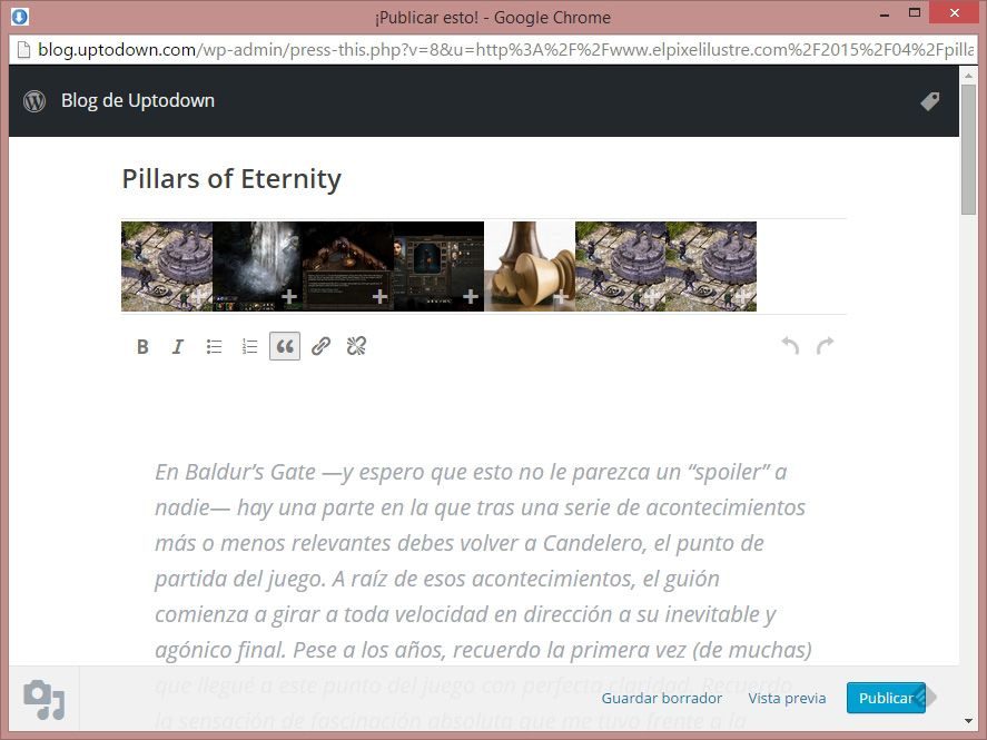 wordpress-publicar-esto-editor