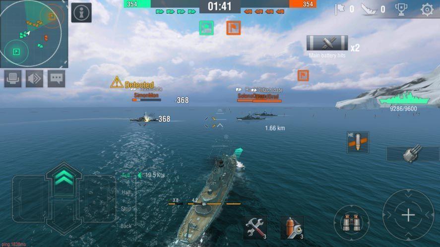 world of warships screen Los diez mejores juegos para Android del mes [julio 2017]