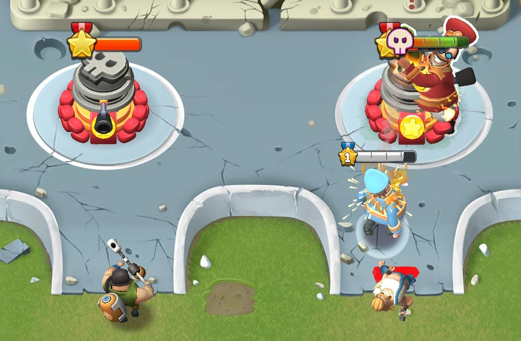 world war doh feat 2 World War Doh hits Android with a new spin on Clash Royale's gameplay