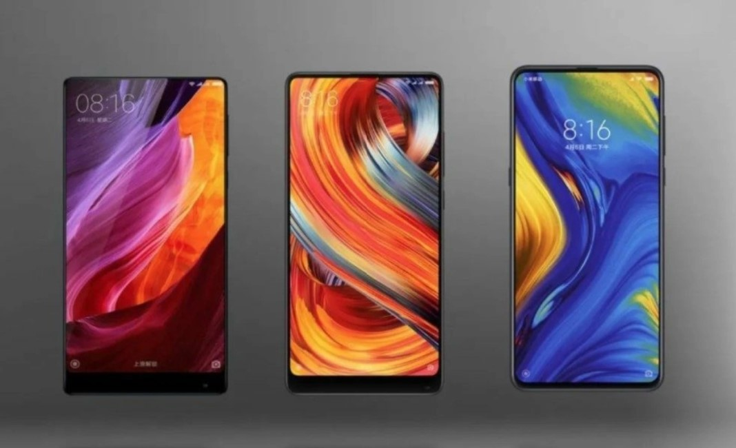 Varios smartphone Xiaomi