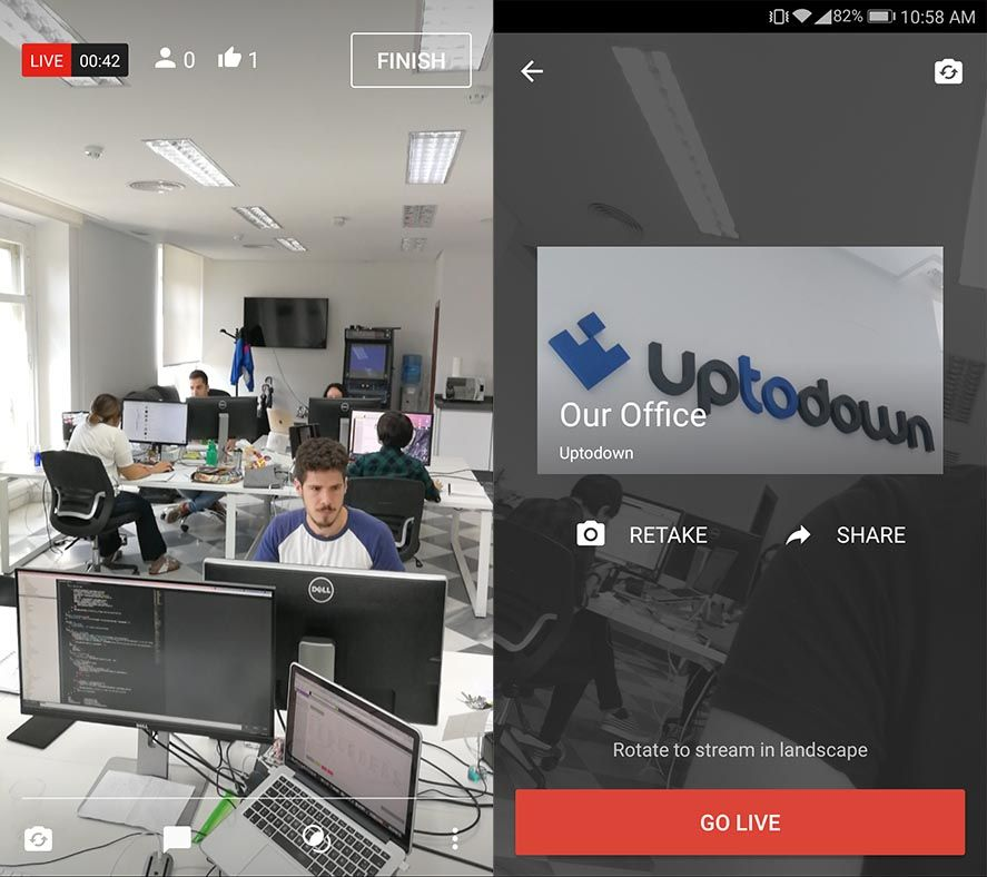 youtube live Now any YouTube user can broadcast live video