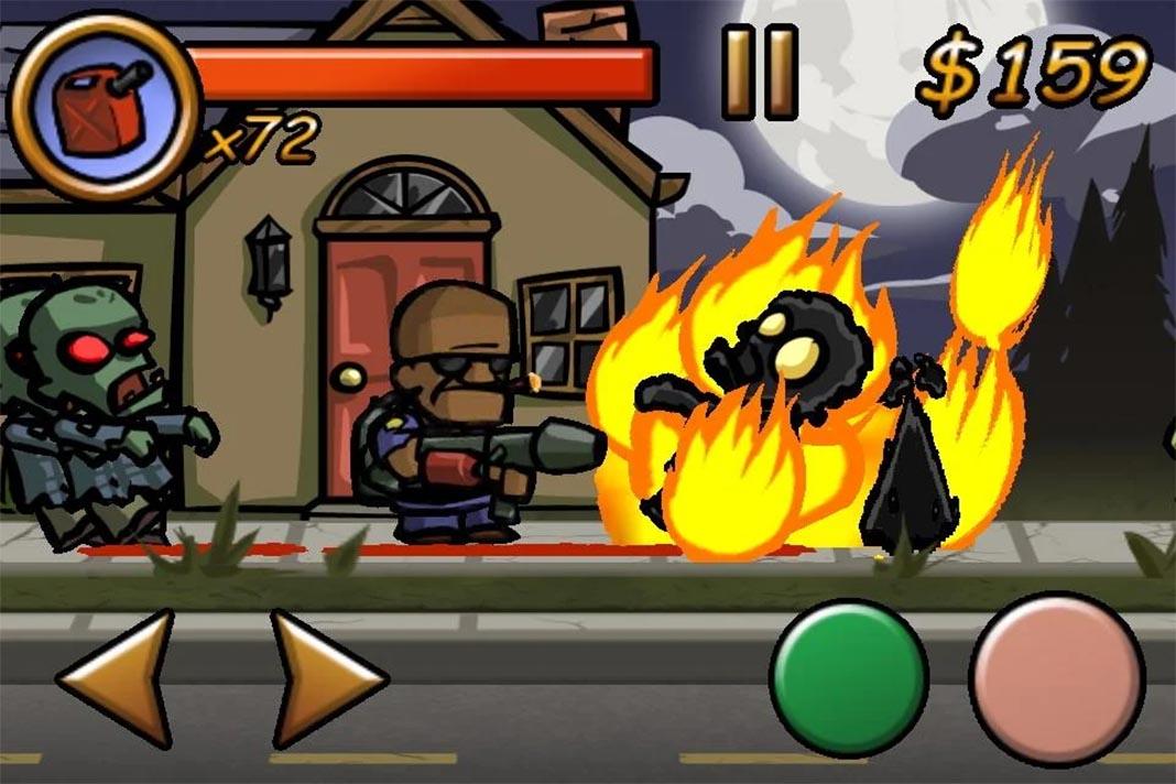 zombieville usa screenshot 25 juegos sin publicidad ni compras in-app para Android